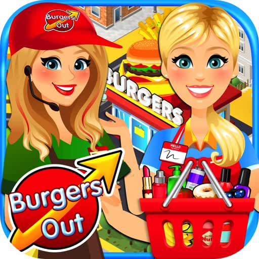 Drive Thru & Drugstore Simulator - Kids Fast Food Games & Shopping Games FREE