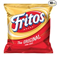 Pack of 40 Fritos Original Corn Chips 1oz Deals