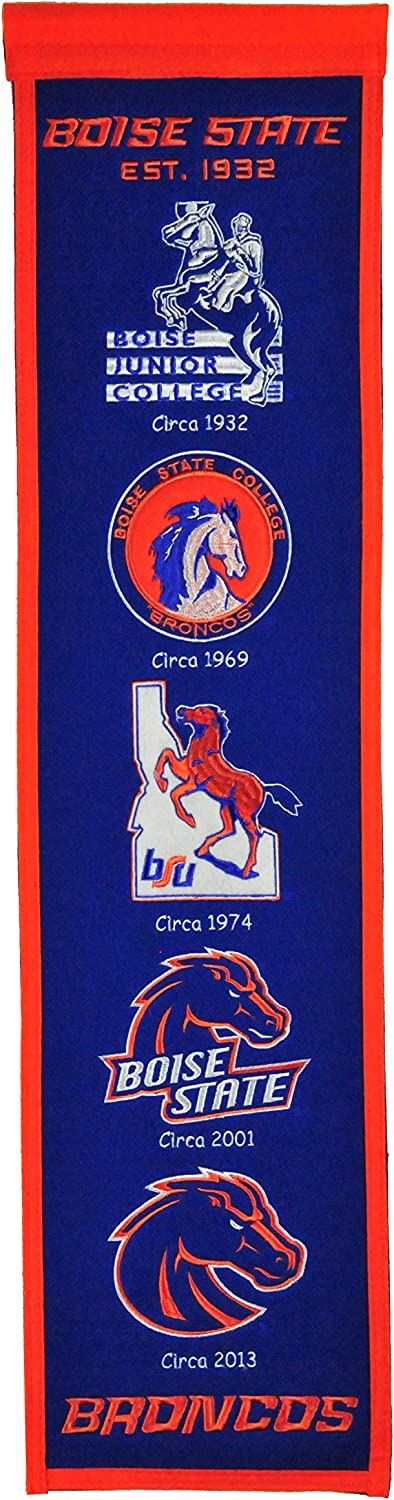 NCAA Boise State Broncos Heritage Banner