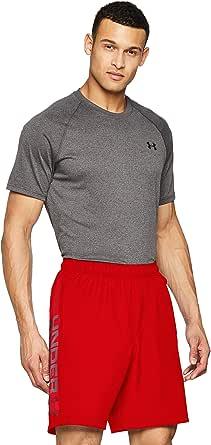 Under Armour Hombre Woven Graphic Wordmark Shorts, pantalón Corto