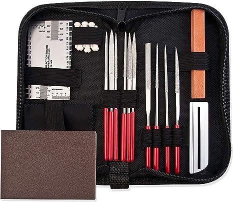 Kit de herramientas de reparación de guitarra, accesorios de ...