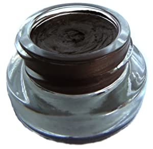 Pure Ziva Chocolate Dark Brown Black Long Lasting Waterproof Gel Cream Eyeliner, Talc & Paraben Free, No Animal Testing & Cruelty Free
