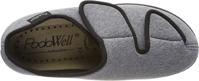 Podowell Alberta, Sneakers Basses Mixte Gris Grau 7328160 43