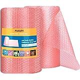 "FUXURY Anti-Static Bubble Wrap Cushioning Roll 3/16"" Air Bubble, 12 Inch x 72 Feet Total"