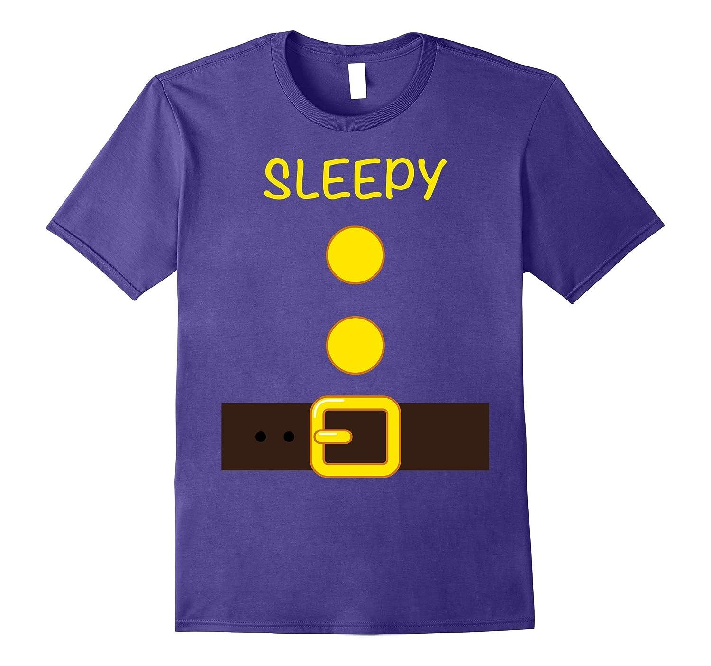 Halloween Dwarf Costume Team Shirt Sleep Matching T-shirts-FL