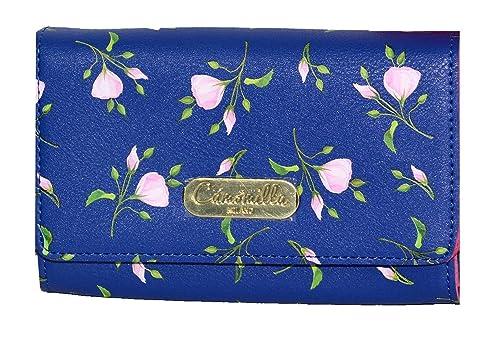 Camomilla Milano - Cartera para mujer de cuero sintético Mujer azul turquesa: Amazon.es: Zapatos y complementos