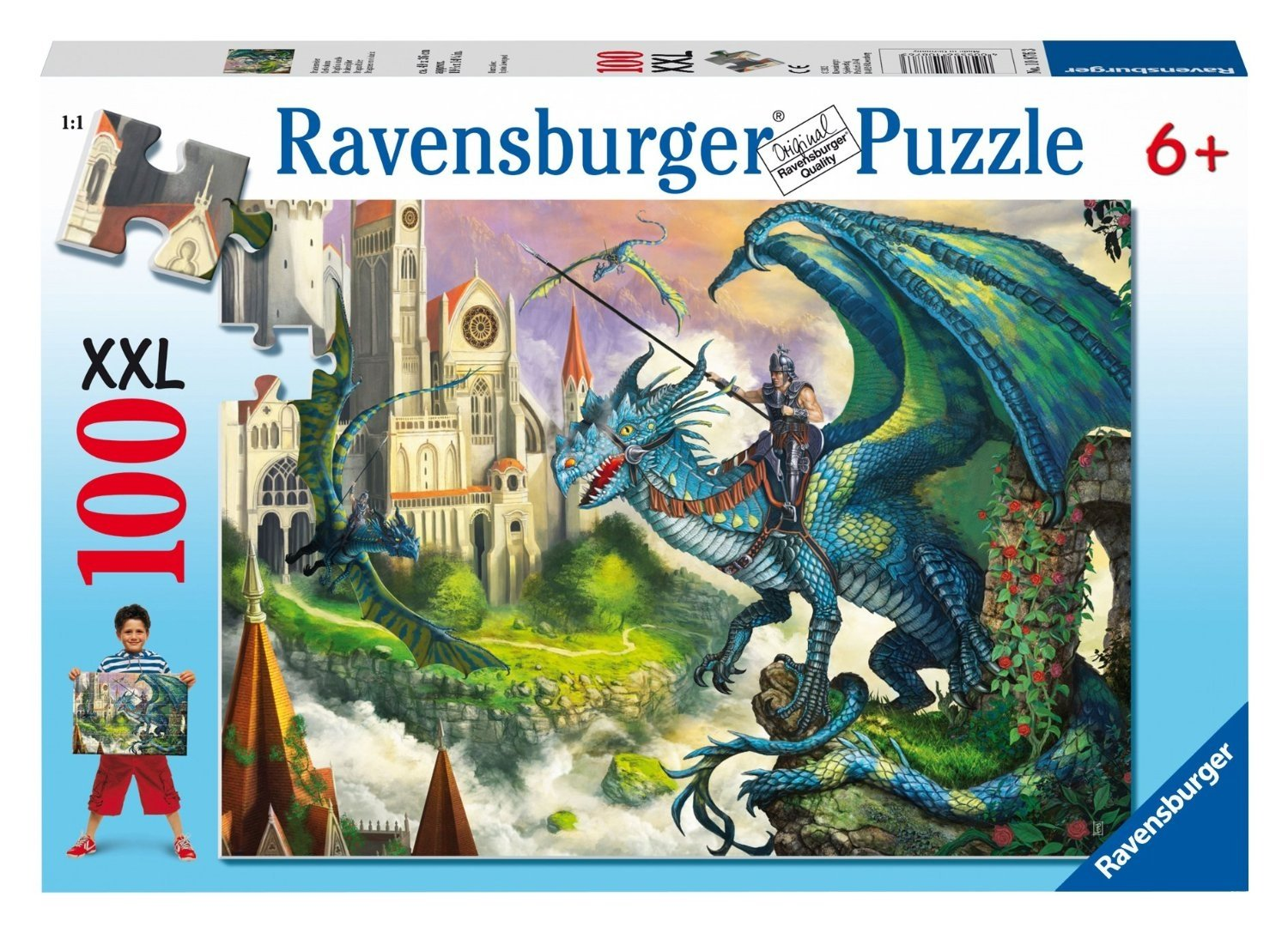 Dragon Rider Puzzle, 100-Piece