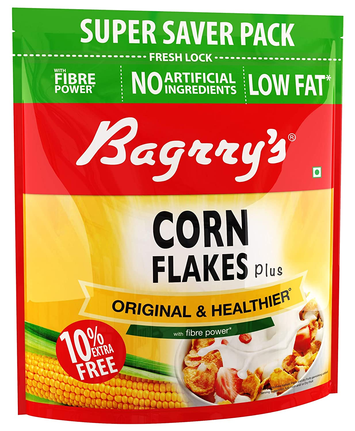 50% Off Deal – Bagrry's Corn Flakes, 800g