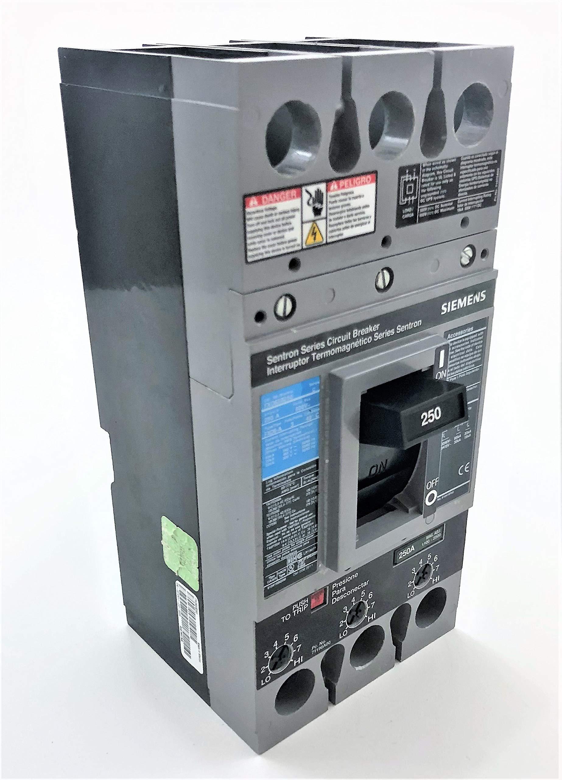 Siemens FXD63B250 250 Amp Type FXD6-A Circuit Breaker by SIEMENS