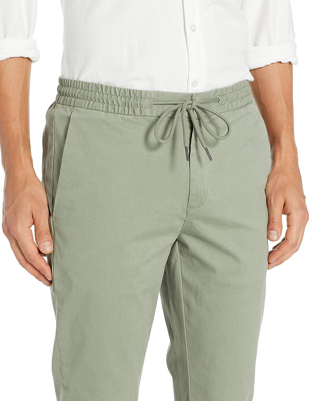 Goodthreads Slim-Fit Washed Chino Drawstring Pant Uomo Marchio