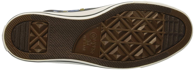 Converse Women's Chuck Taylor All Star Floral Print Low Top Sneaker B07CQ6KKDW 8 B(M) US|Mason Blue/Light Blue