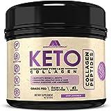 Keto Collagen, 41 Servings, Grass-Fed, Non-GMO, Gluten Free - Unflavored