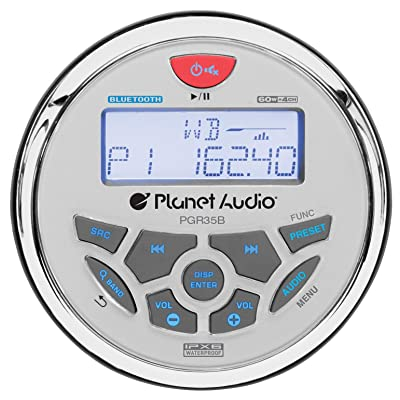 Planet Audio Weatherproof Marine Gauge Receiver: Car Electronics