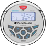 Planet Audio PGR35B Weatherproof Marine Gauge Receiver - Bluetooth, Digital Media MP3 Player, No CD Player, USB Port…