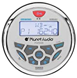 Amazon Price History for:Planet Audio PGR35B IPX6 Rated, Bluetooth, Digital Media MP3 / WMA / USB / AM/FM Compatible, Weather-Proof Marine Stereo, (No CD Player)