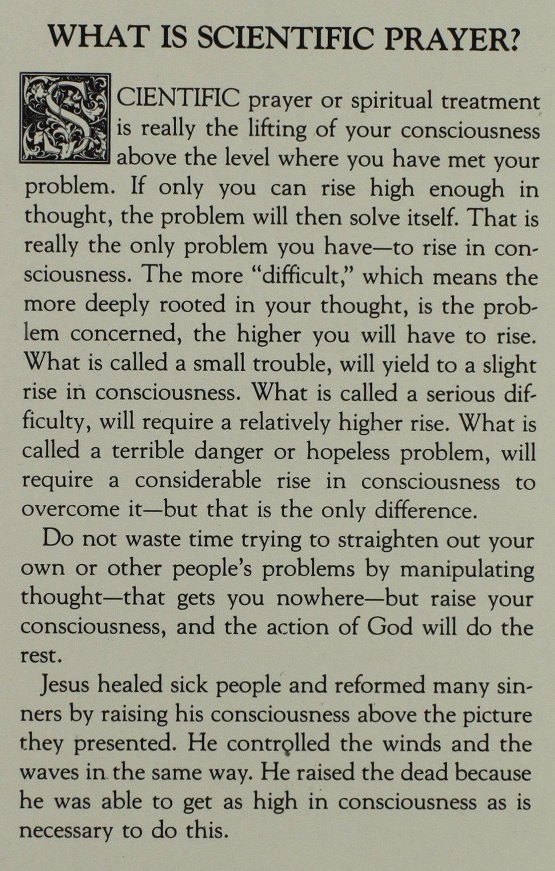 What is Scientific Prayer? (#31)