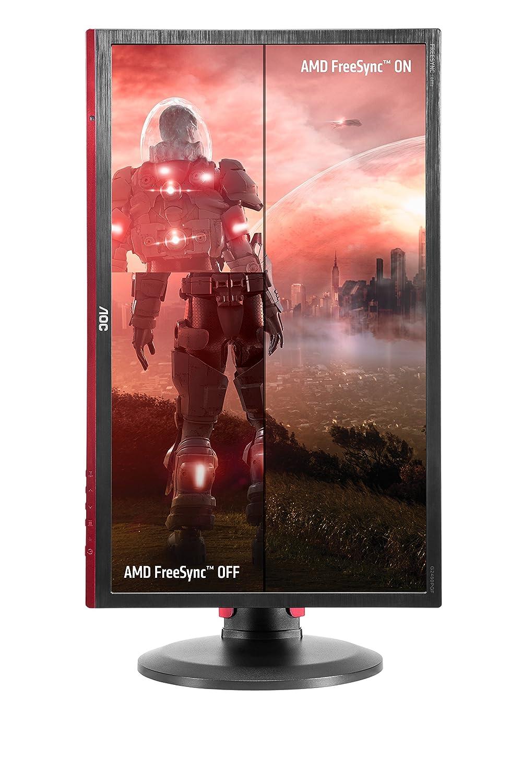 "AOC G2460PF 24"" Gaming Monitor, FreeSync, FHD (1920x1080), TN Panel, 144Hz,  1ms, Height Adjustable, DisplayPort, HDMI, USB"