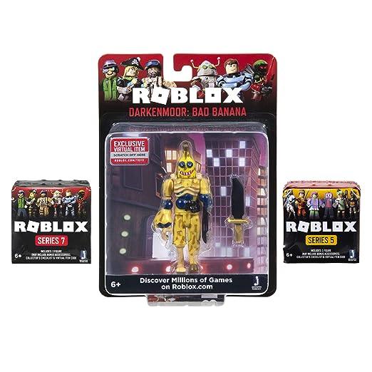 Buy Roblox Darkenmoor Bad Banana Figure Pack Two Mystery Box