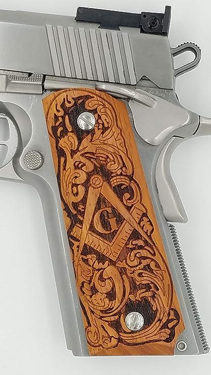 Amazon.com: 1911 - Emblema masónico grabado a láser con ...