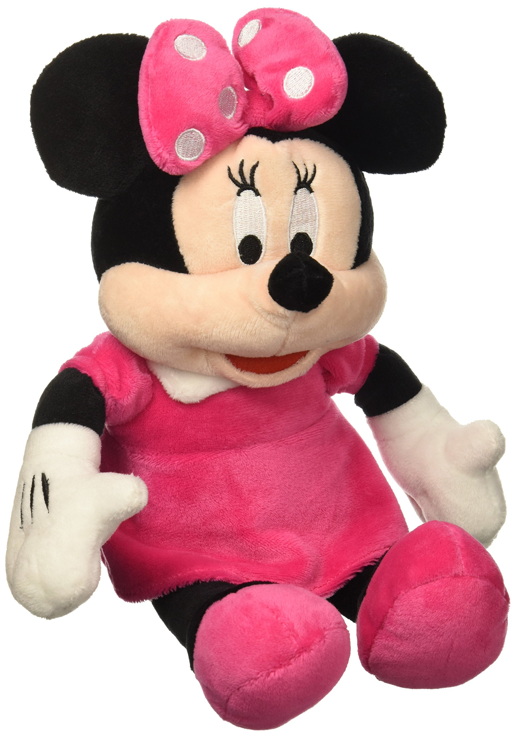 Disney Minnie Mouse Plush Pink Coin Bank