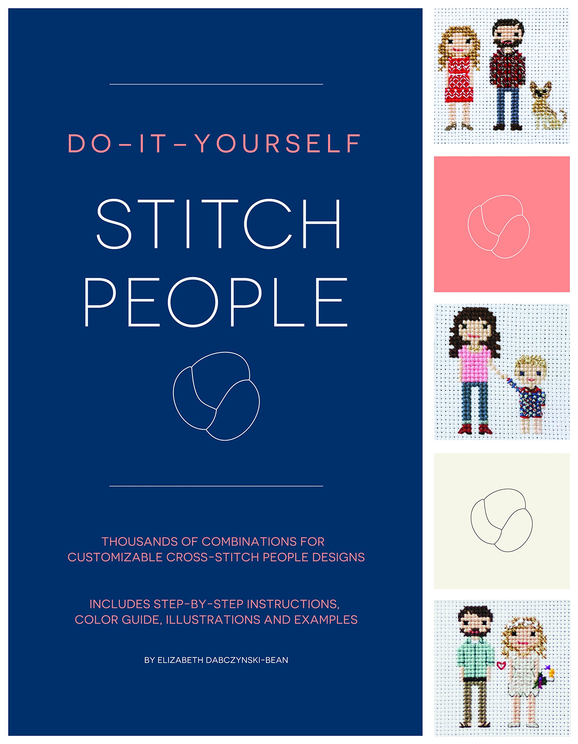 Amazon cross stitch needlecrafts textile crafts books do it yourself stitch people solutioingenieria Image collections