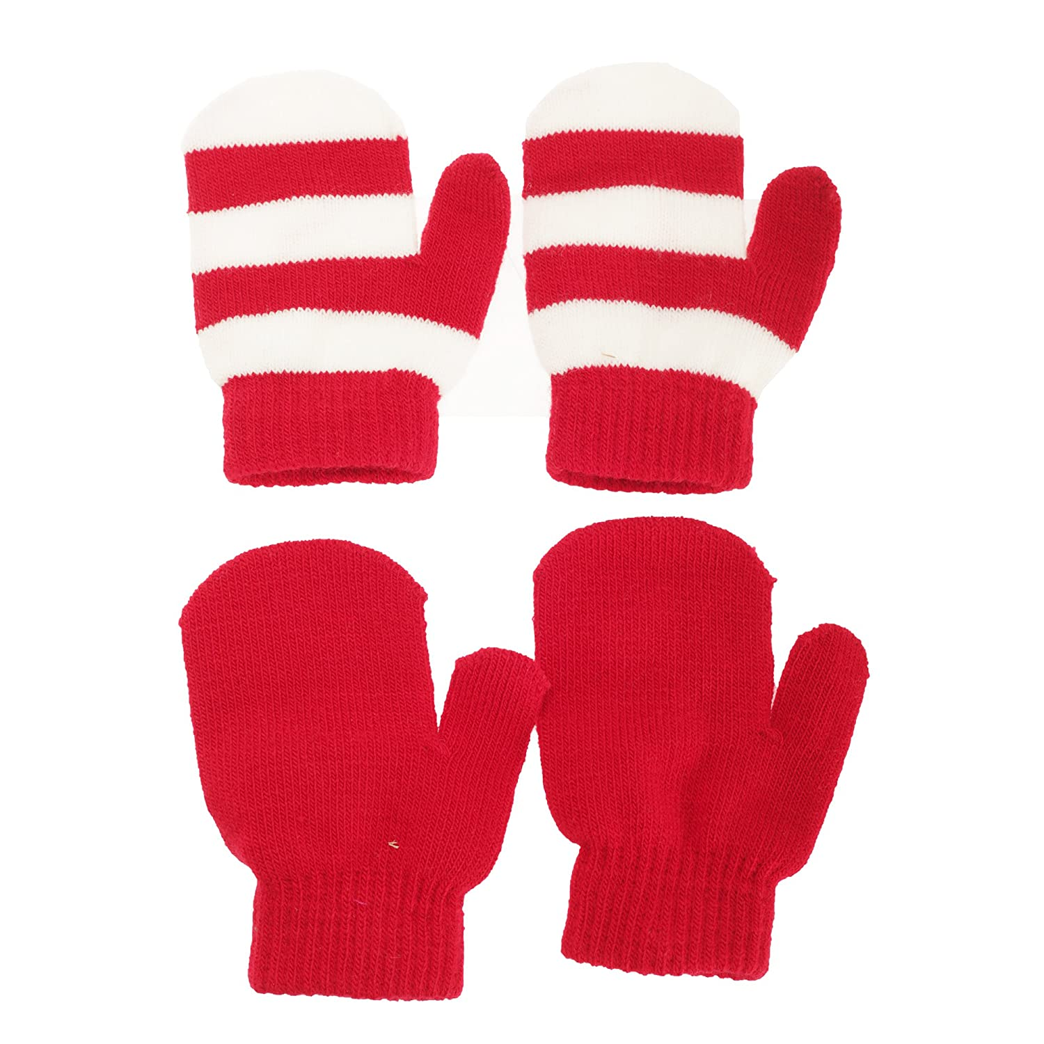 Baby Boys/Girls Winter Mittens (2 Pairs) UTBABY1259_6
