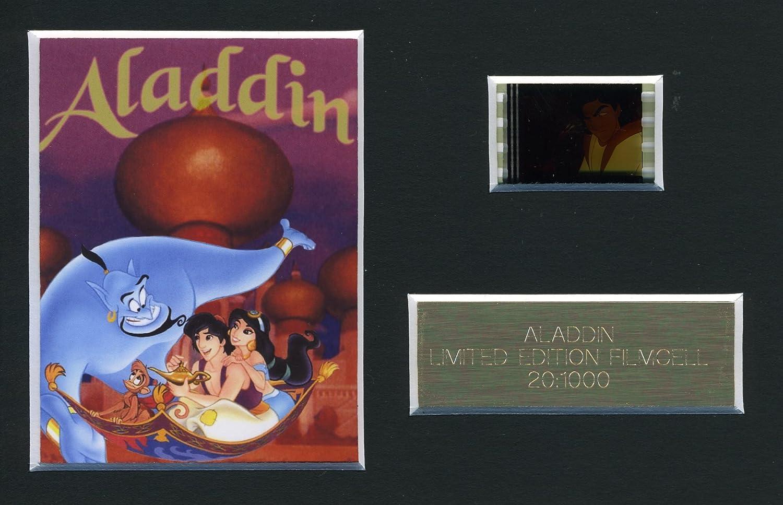 Fotogramma di pellicola cinematografica del film Aladdin [versione in inglese]. Edizione limitata