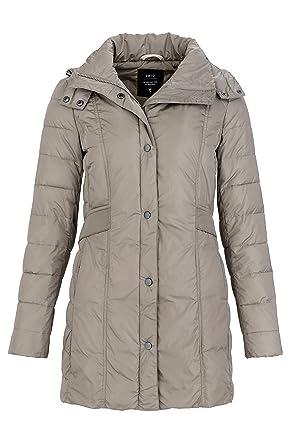 timeless design 007da a79dd Zero Damen Jacke Steppjacke TIPHAINE, Farbe: Beige, Größe ...