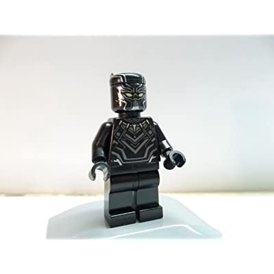 LEGO Marvel Super Heroes Minifigure - Black Panther T'Challa (76047): Toys & Games