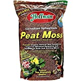 Hoffman 15503 Canadian Sphagnum Peat Moss, 10 Quarts (1-Pack)