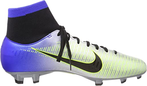 101373bb3f5 Mercurial Victory Vi Racer Blue Black - Chrome Volt Ankle-High Soccer Shoe  9.5M 8M. Nike Mercurial Victory Vi Racer Blue Black - Chrome Volt ...