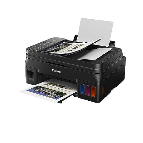 Impresora Multifuncional Canon PIXMA G4511 Negra WiFi de inyección de Tinta