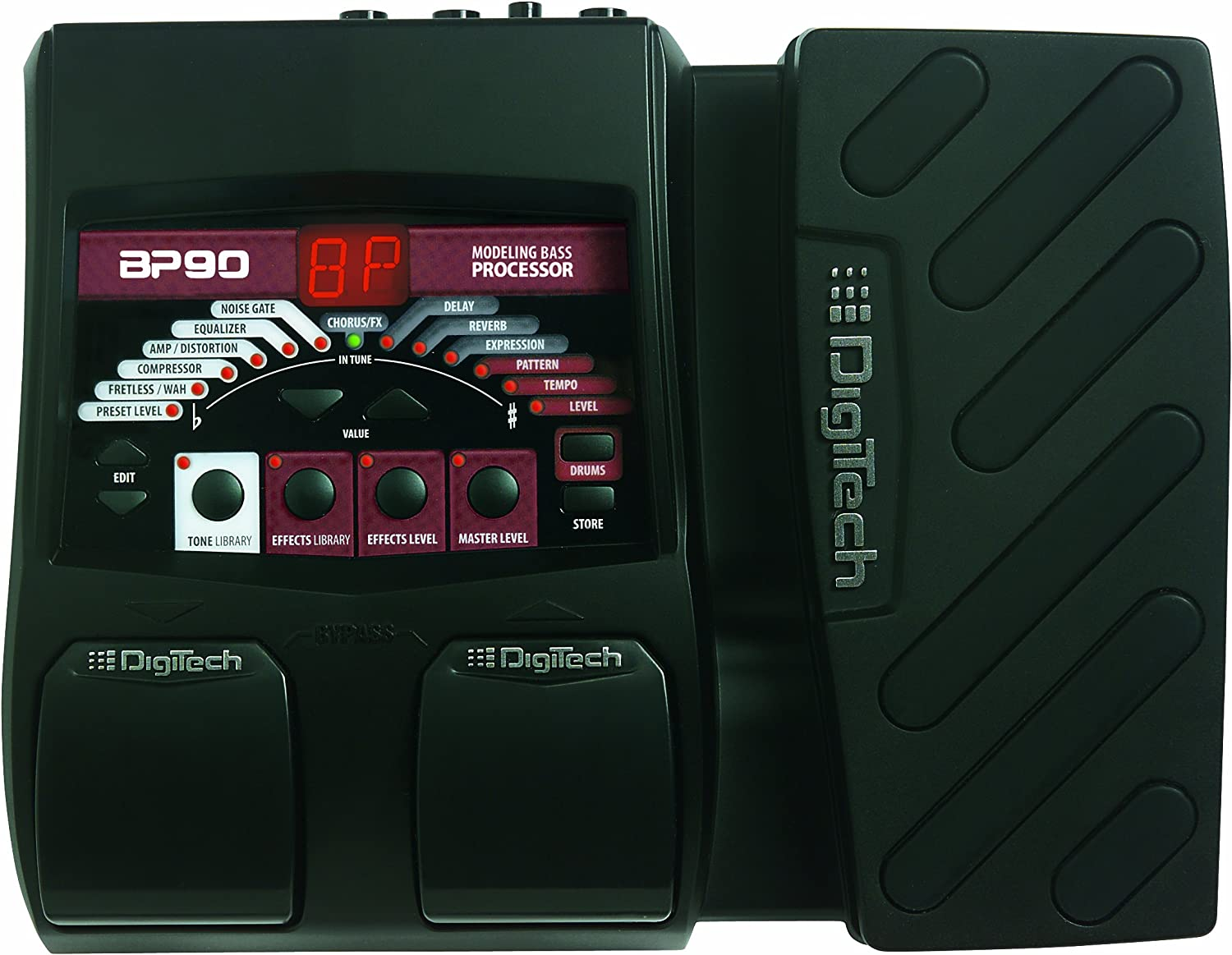 DigiTech BP90 Bass Modeling Multi Effects Pedal Processor with Power Supply