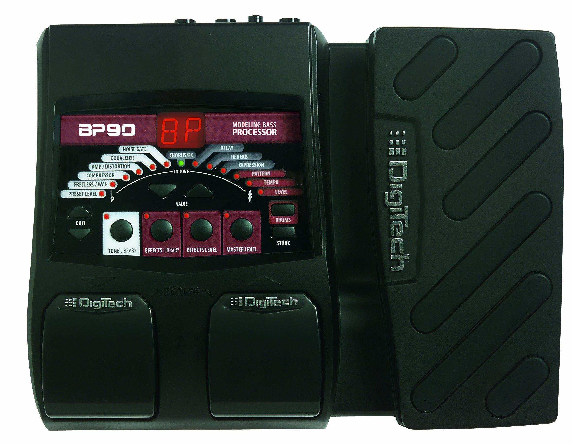 DigiTech BP90 Bass Guitar Multi-Effects Processor by DigiTech