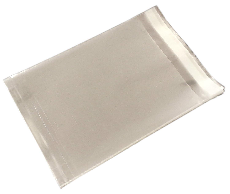 12,7 cm X cm 17,78 fácil, plana transparente bolsas de ...
