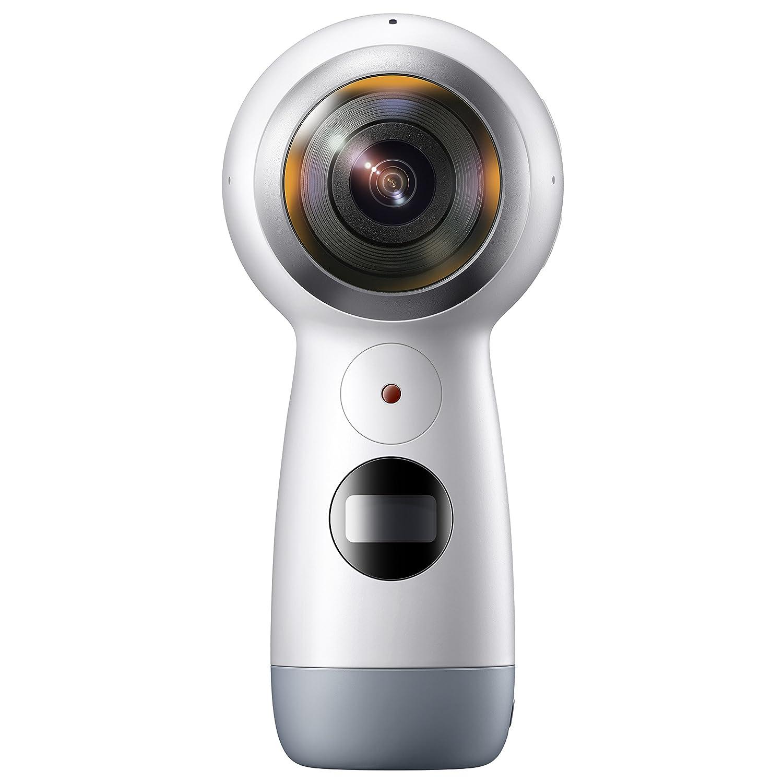Galaxy 全天球カメラ Gear 360(2017)【Galaxy純正 国内正規品】Galaxy / iPhone対応 ホワイト SM-R21010217JP Gear 360  B071S3CZXD