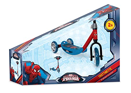 Amazon.com: Marvel Spider Man 3 Wheels Scooter: Toys & Games
