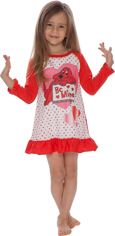 Clifford Girls/' Toddler Mine/' Valentines Day Pajama Nightgown