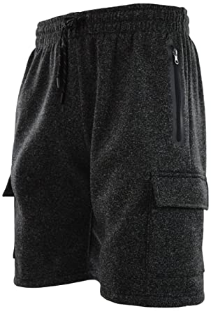 7be05bf3d5ba ChoiceApparel Mens Cargo Sweat Shorts (M up to 5XL)
