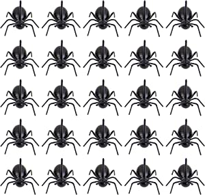 AUEAR, 24 Pack Creative Ants Fruit Fork Food Pick Fork Black Ants Mini Fork for Birthday Holiday Party Decoration