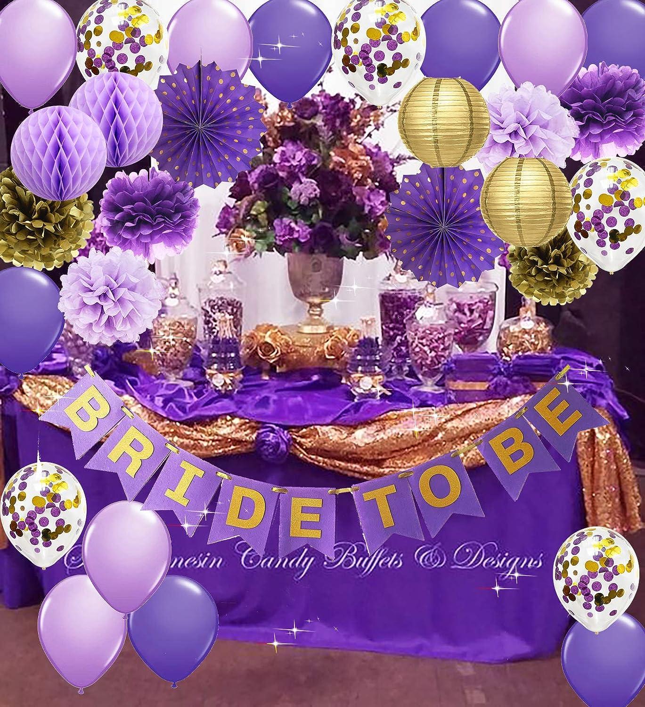 Purple  garland purple wedding decorations lavender wedding decorations purple decor purple backdrop purple baby shower decorations
