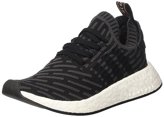 Adidas NMD R2 Primeknit Women Utility Black - BA7239 - Color Black - Size:  6.0