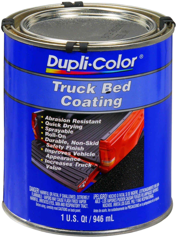 Dupli-Color (ETRQ254-2 PK Black Truck Bed Coating - 1 Quart, (Case of 2)