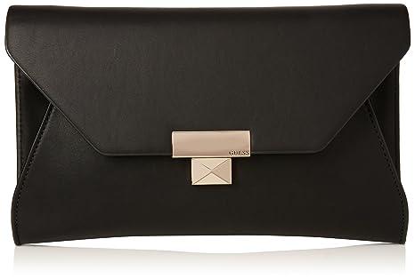 diseño atemporal 6feab 10159 Guess Bolsa Clutch Negra Bolsa para Mujer Negro Talla ...