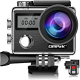 Campark X20 4K Action Camera Touch Screen 20MP Sony Image Sensor,Waterproof Sports Camera, WiFi, Dual LCD, Remote Control, EIS, Accessories Kit …
