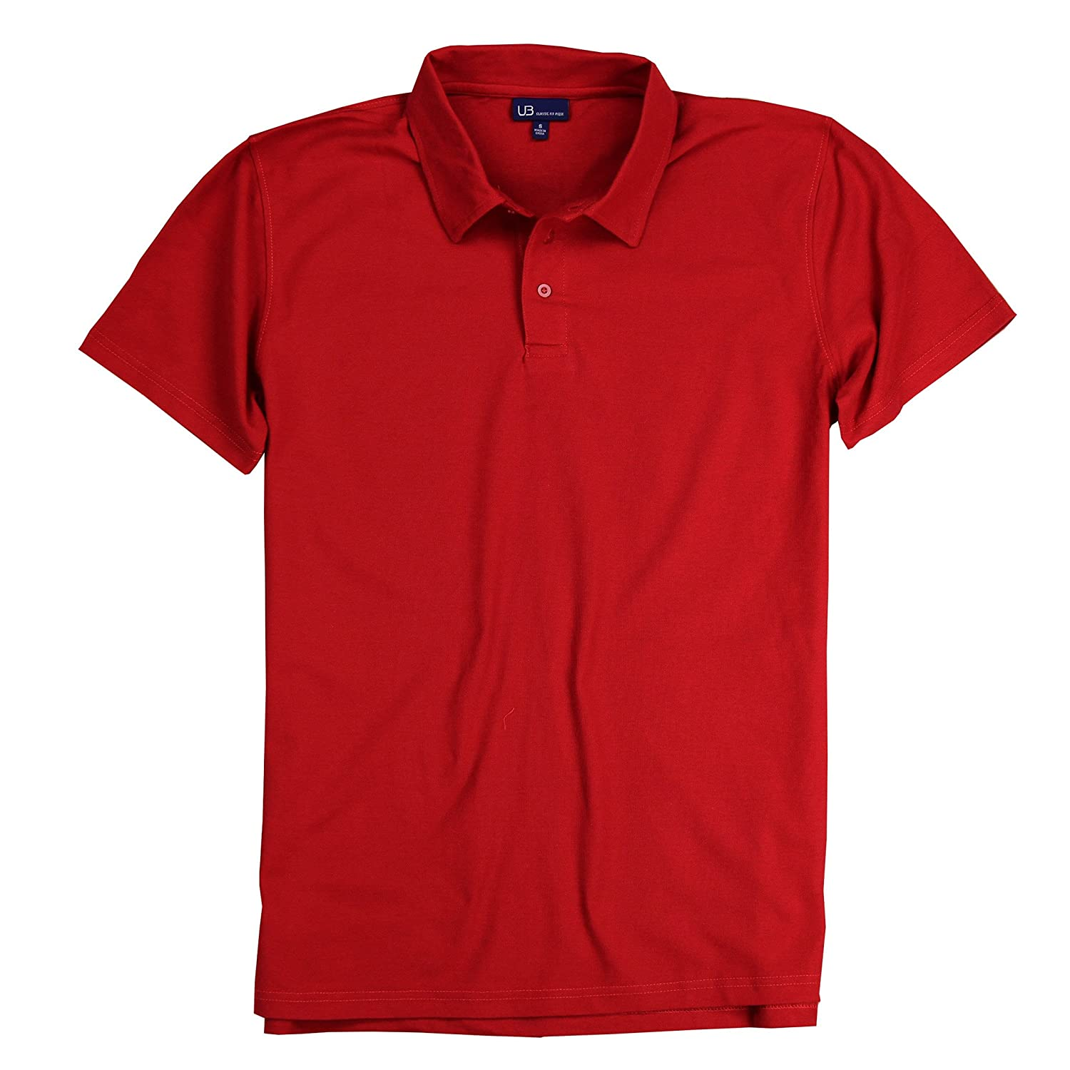 Men's Classic Fit Pique Polo