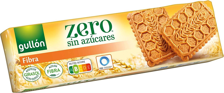 Gullón Galleta Fibra ZERO sin Azúcares, 170g
