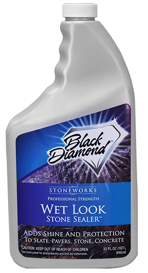 Black Diamond Stoneworks Wet Look Natural Stone Sealer Provides ...