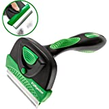 K9KONNECTION FURjector DeShedding Tool for Dogs & Cats - Dog Brushes for Shedding - Brush With Easy Ejection Button Removes Dead Undercoat Fur - Best Comb For Pets - Short, Medium or Long Hair