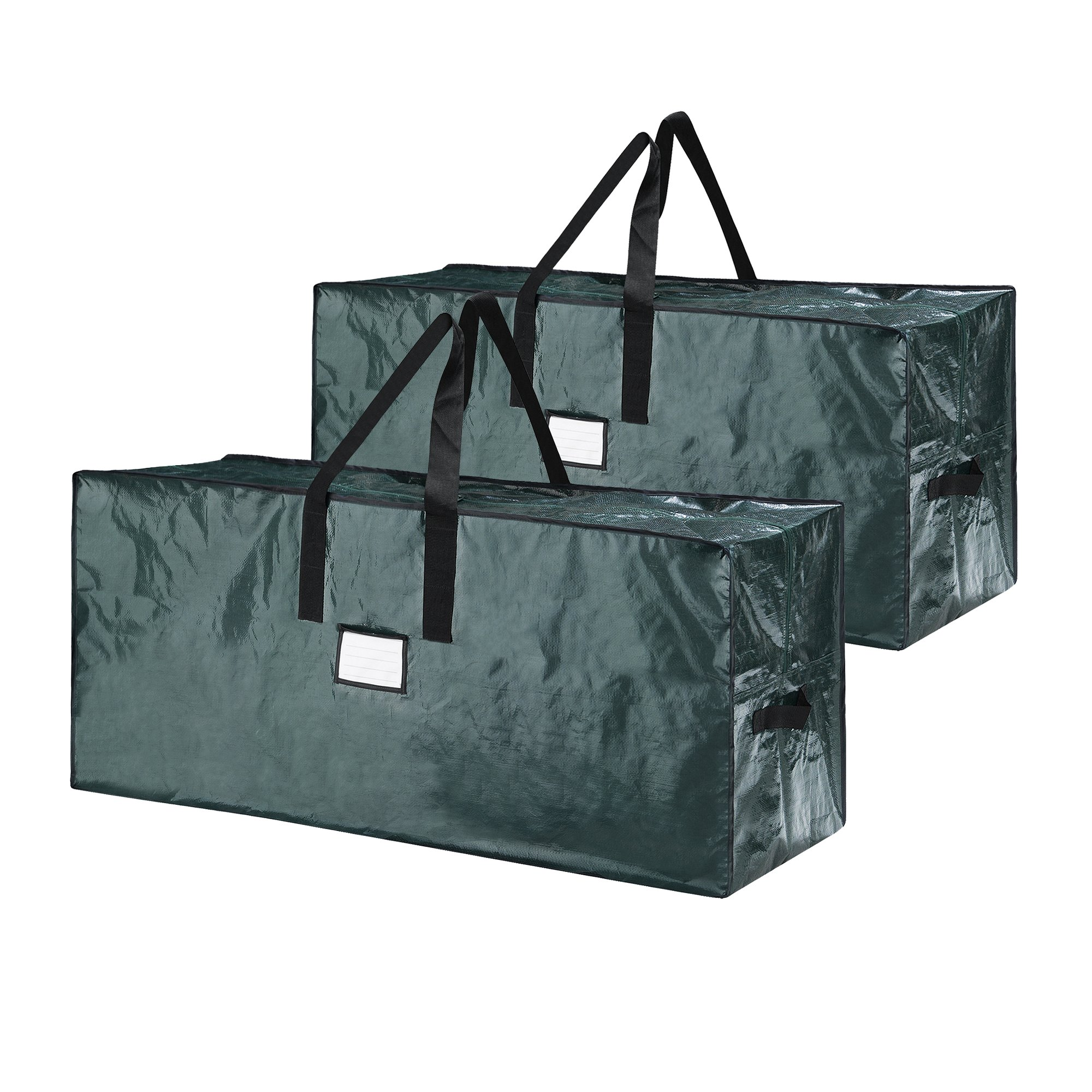 Elf Stor Bag for Christmas Tree Storage, (2) Extra Large Bags - Green
